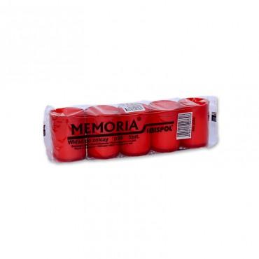 Candela rezerva rosie Memoria 17h 5/set