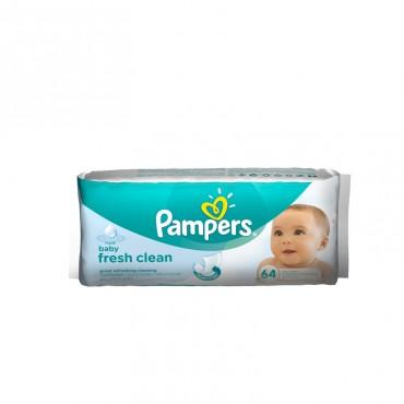 Servetele umede Pampers Baby Fresh 64 file