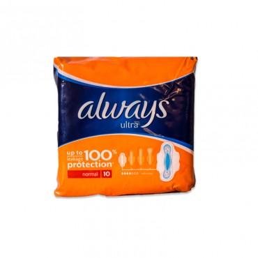 Absorbante Always Ultra Plus 10/set