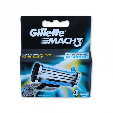 Rezerve pentru aparat ras Gillette Mach3 4/set