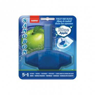 Odorizant wc Sano Bon Blue 5 in 1 55 gr