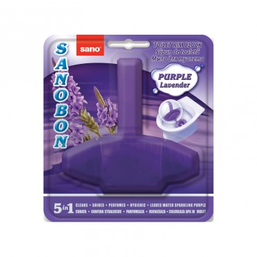 Odorizant wc Sano Bon Purple Lavander 5 in 1 55 gr