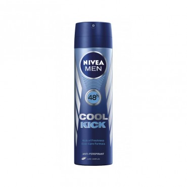 Deodorant antiperspirant spray pentru barbati Nivea Cool Kick 150ml