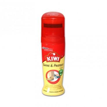 Crema lichida pentru pantofi incolora Kiwi Shine & Protect 75 ml