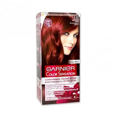 Vopsea de par Garnier Color Sensation 5.62 visiniu intens pretios