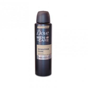 Deodorant antiperspirant spray pentru barbati Dove Sensitive 150ml