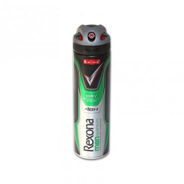 Deodorant antiperspirant spray pentru barbati Rexona Quantum Dry 150ml
