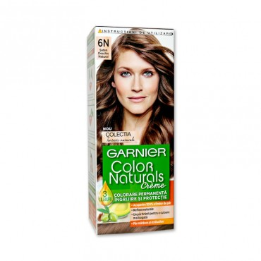 Vopsea de par Garnier Color Naturals 6N saten deschis natural