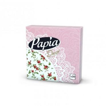 Servetele de masa decorative Papia 33 x 33cm 3 straturi 20 foi