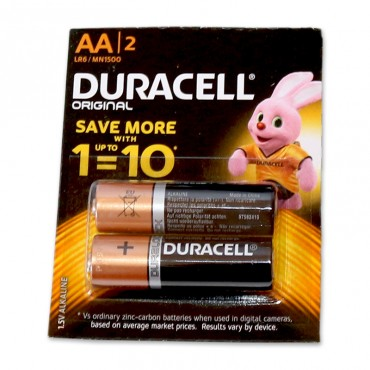 Duracell AA R6 1.5V Alkaline