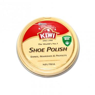 Crema solida pentru pantofi incolora Kiwi 50 ml