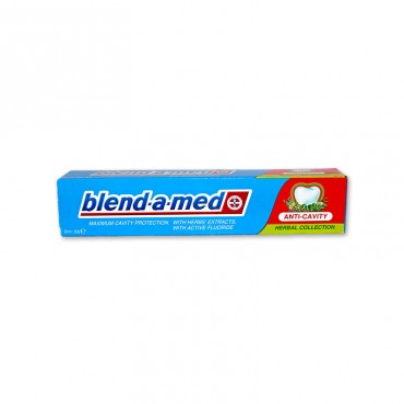 Pasta de dinti Blend-a-Med Anti Cavity Herbal Collection 50ml