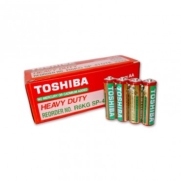 Baterii Toshiba AA R6 1.5V