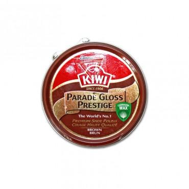 Crema solida pentru pantofi maro Kiwi 50 ml