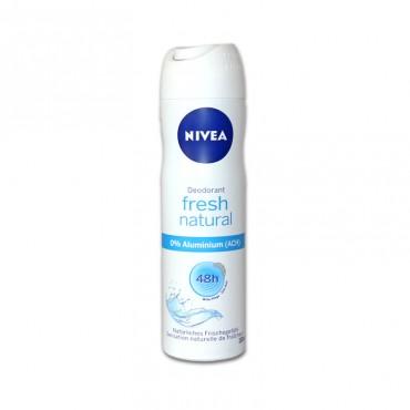 Deodorant antiperspirant spray Nivea Fresh Natural 150ml