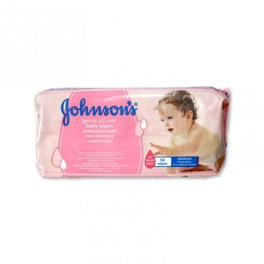 Sevetele umede Johnson's Baby gentile 56 buc.