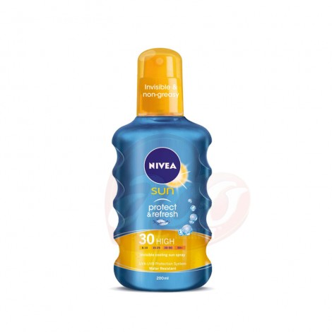 Spray protectie solara Nivea Sun Protect & Refresh SPF 30 200 ml