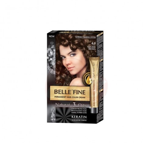 Vopsea par Belle'Fine 4.0 Natural Brown