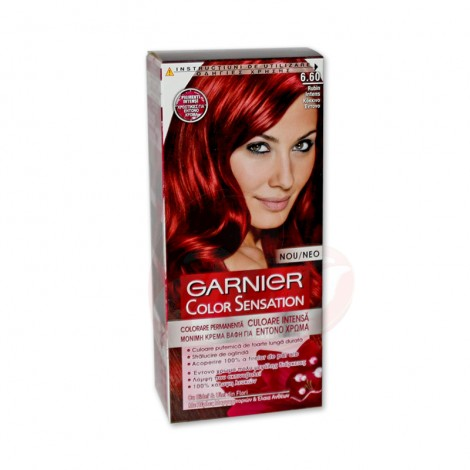 Vopsea de par Garnier Color Sensation 6.60 rubin intens
