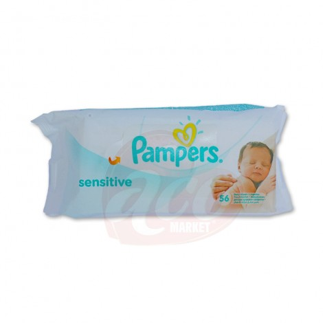 Servetele umede Pampers Sensitive 56 file