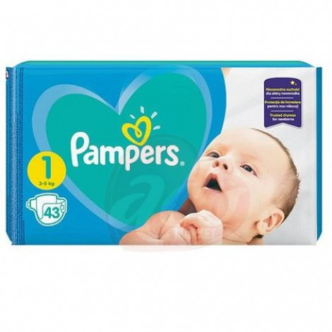Scutece Pampers Active Baby Newborn nr.1 43/set