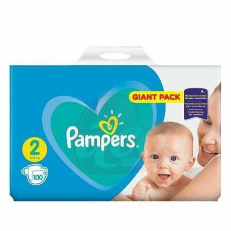 Scutece Pampers Active Baby Maxi nr.2 100/set