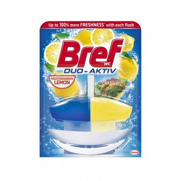 Odorizant wc Bref Duo Activ Lemon 50 ml