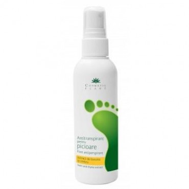 Antitranspirant Picioare Busuioc 100ml Cosmetic Plant