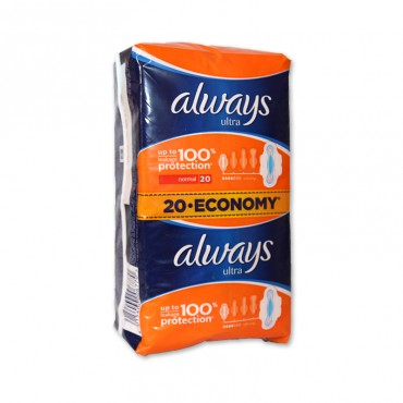 Absorbante Always Ultra Normal 20/set