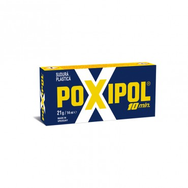 Adeziv metalic 10' Poxipol 14 ml