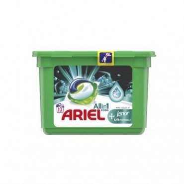 Detergent capsule Ariel All in One PODS Plus Unstoppable, 13x27,1 ml
