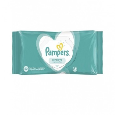 Servetele umede Pampers new sensitive 52 file