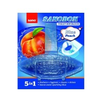 Odorizant wc Sano Bon Blue Peach 5 in 1 55 gr