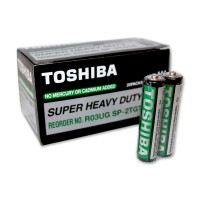 Baterii Toshiba AAA R3 1.5V Super Heavy Duty 2/set