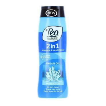 Teo Sampon si Balsam 400 ml 2 in 1 Volume- Minerals