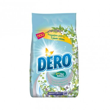 Detergent manual  Dero Surf  2 in 1 Prospetime Pura 1.8 kg