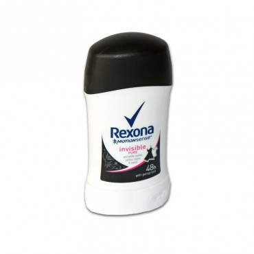 Deodorant antiperspirant stick Rexona Invisible Pure 40ml