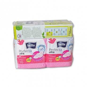 Absorbante Bella perfecta rose 20buc.+panty