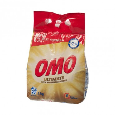 Detergent automat Omo Ultimate White 2kg
