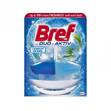 Odorizant wc Bref Duo Activ Ocean 50 ml