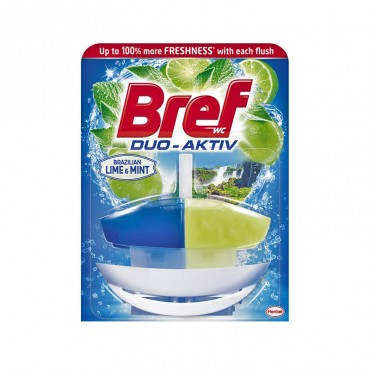 Odorizant wc Bref Duo Activ Lime & Mint 50 ml