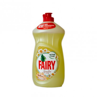 Detergent de vase Fairy sensitive chamomile & vitamina E 450ml