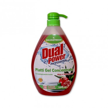 Detergent vase Dual Power Professional Aloe & Melograno 1l