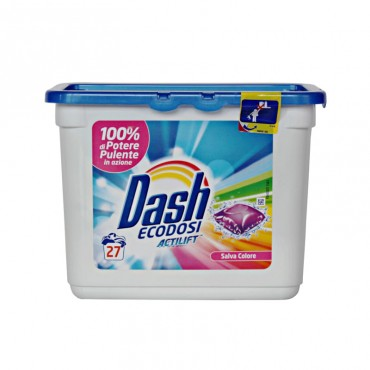 Detergent capsule Dash Salva Colore 27x35gr