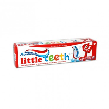 Pasta de dinti Aquafresh Kids Little Teeth 3-5 ani 50ml