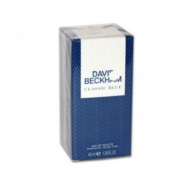 Apa de toaleta David Beckham Classic Blue 40ml