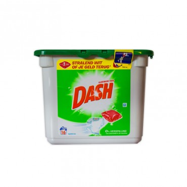 Detergent capsule Dash regular 3 in 1 16/set