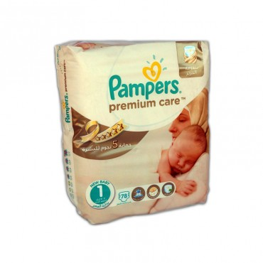 Scutece Pampers Premium Care nr.1 78/set