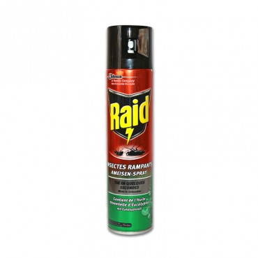 Insecticid Raid spray gandaci furnici 400ml eucalipt