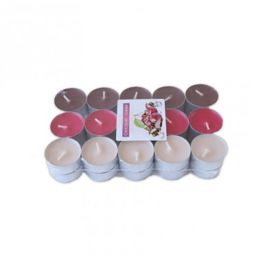 Lumanari pastila parfumate chocolate & cherry 30/set 4h